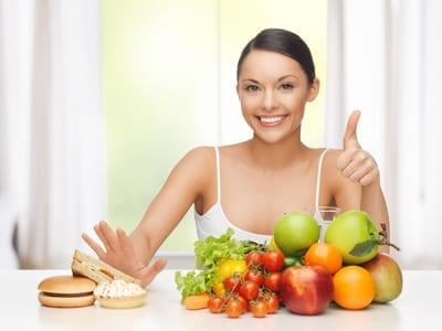 Spis en økologisk plantebaseret kost